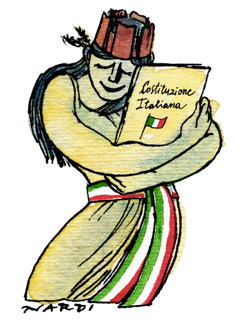 Cos la costituzione della repubblica italiana il colibr for Repubblica parlamentare italiana