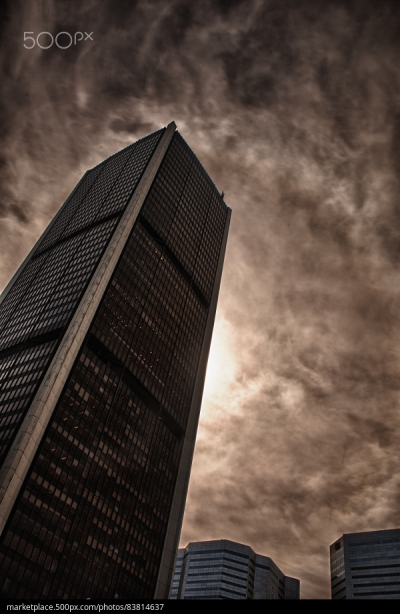 500px Photo ID: 83814637 - Corporate Buildings and Dramatic sky